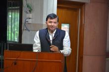 Secretary on Website Inauguration