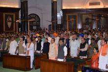MINISTERS & OTHER DISTINGUISHED GUESTS AT THE GST LAUNCH FUNCTION